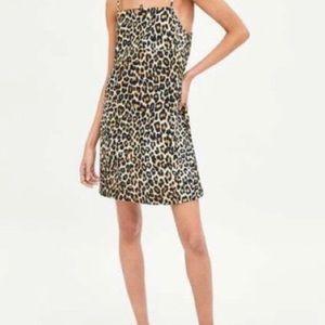 Zara Leopard Dress NWT